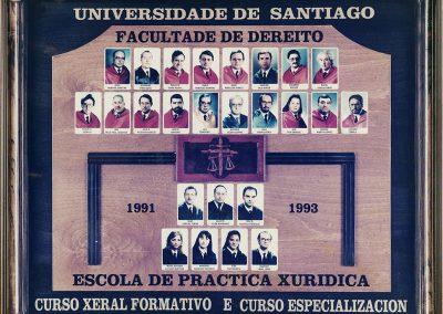 CURSO XERAL1991-1993