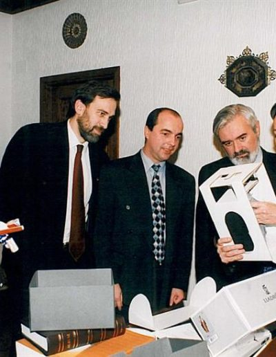 Acto apertura curso académico 1999-00