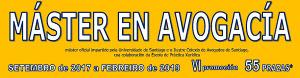 MATRÍCULA MUA SANTIAGO   55 prazas (curso 2017-2018) VI promoción